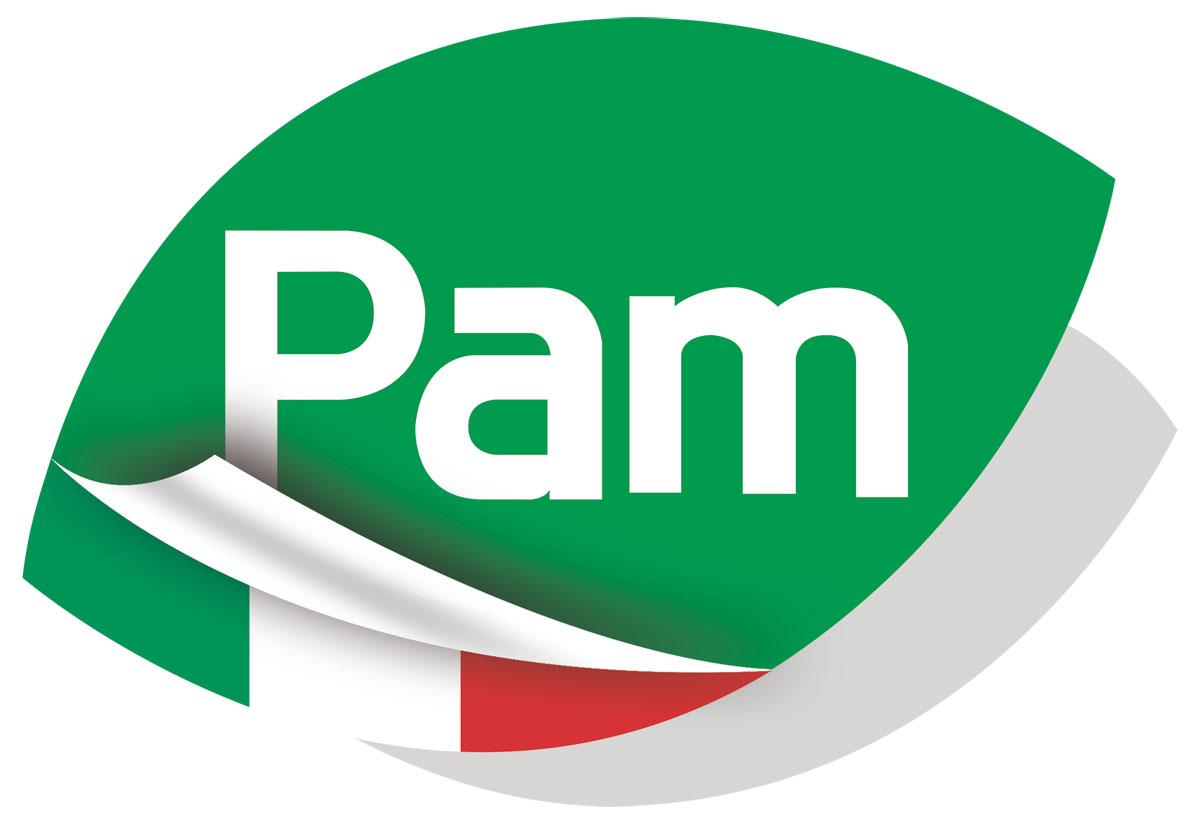 Logo Pam - Più a Meno