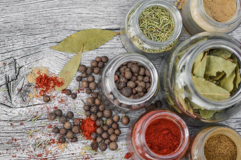 Le 4 Spezie più utilizzate in cucina