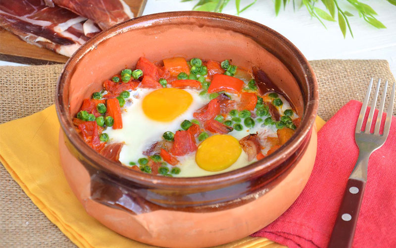 Uova alla Flamenca