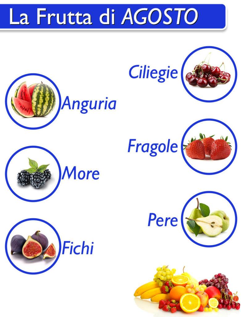 Frutta Agosto