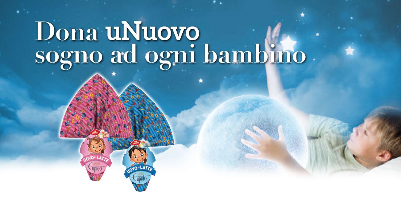 Dona uNuovo sogno ad ogni bambino del reparto di Oncoematologia pediatrica dell'ospedale SS Annunziata di Taranto